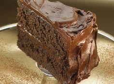 Really Chocolate Chocolate Cake.