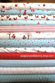 SALE10 OFF Walk in the Woods from Aneela Hoey by poppyseedfabrics, $29.70