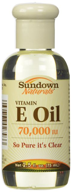 Sundown Naturals Pure Vitamin E Oil 70,000 Iu, 2.5 Oz: Amazon.co.uk: Health & Personal Care