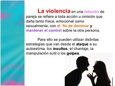 .. Violencia en el noviazgo.