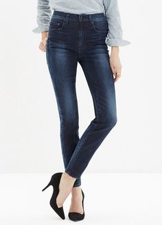 Madewell Extra-High Skinny Jeans // #Shopping
