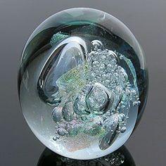 Robert Eickholt Glass Paperweight | glass paperweights