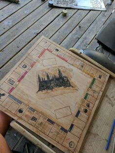 Diy Geschenke Beste Freundin: Tuto : Fabriquer son propre Monopoly version Harry Potter - Wallpaper World Harry Potter Diy, Monopoly Harry Potter, Harry Potter Pages, My Best Friend's Birthday, Birthday Diy, Birthday Nails, Birthday Wishes, Best Friend Gifts, Gifts For Friends