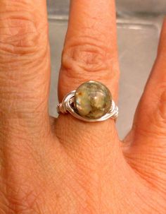 Shell Ring by Jewelrybyila on Etsy