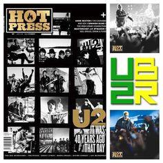 Os meninos do U2 são capa da nova edição da Hot Press – uma publicação irlandesa mundialmente famosa sobre música, cultura pop, entretenimento e opinião. A publicação é mais um item da comemoração dos 40 anos do U2. Veja mais detalhes no u2br.com - U2 Brasil (@u2br) • Photos et vidéos Instagram