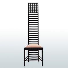 The Ladder Back Chair by Charles Rennie Mackintosh