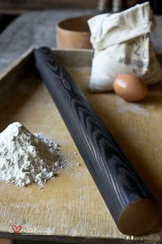 Handturned rolling pin