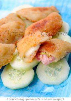 Sorrisi con zucchine scamorza e prosciutto vickyart arte in cucina