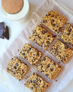Oatmeal peanut cookie bars