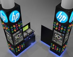Printer exhibition for HP