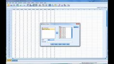This video describes how to calculate and interpret Cronbach's alpha using SPSS.