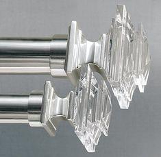 Restoration Hardware Estate Crystal Finials