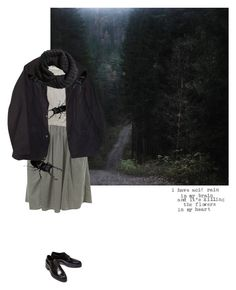 """""""drive with fear"""" by anxiyeti ❤ liked on Polyvore featuring Miss Selfridge, Maison Margiela, Barbour and H&M"""