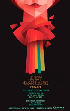 An event to remember starts with an unforgettable flyer. Get inspired by this curated gallery and create your own Event Flyer for free using our templates. This beautiful flyer was designed for the Judy Garland Cabaret. Event Poster Design, Poster Design Inspiration, Graphic Design Posters, Graphic Design Illustration, Flyer Design, Event Posters, Poster Designs, Theatre Posters, Theater Tickets