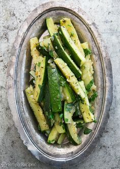 Zucchini with Thyme Recipe | Simply Recipes