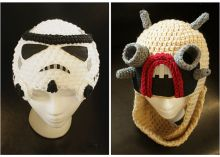 From Boba Fett to Stormtrooper with latest 'Star Wars' knit caps via @CNET