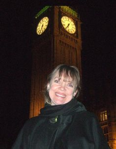 Sophie Neville attending a talk at the Houses of Parliament in Westminster, London given by Bible Society