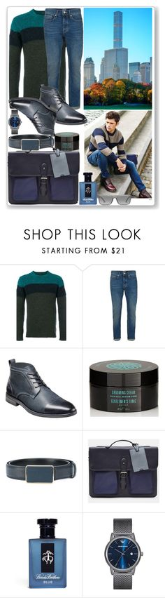 """This day will never come again! Hope For The Better!!"" by nefertiti1373 ❤ liked on Polyvore featuring Roberto Collina, Topman, Stacy Adams, Gentlemen's Tonic, Dolce&Gabbana, Ted Baker, Brooks Brothers, Emporio Armani, Ray-Ban and men's fashion"
