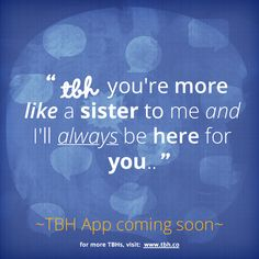 Click to be one of the first to try the new TBH app! #tbh #tobehonest #lms4tbh #quote #honest #friend #friendship Install TBH > www.tbh.co/pinterest Tbh Quotes, Life Quotes, Get Real, Social Media, App, Memes, Friend Friendship, Nails, Inspiration