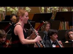 ▶ W.A.Mozart: Clarinet concerto in A major, K.622 with Nadja Drakslar - YouTube