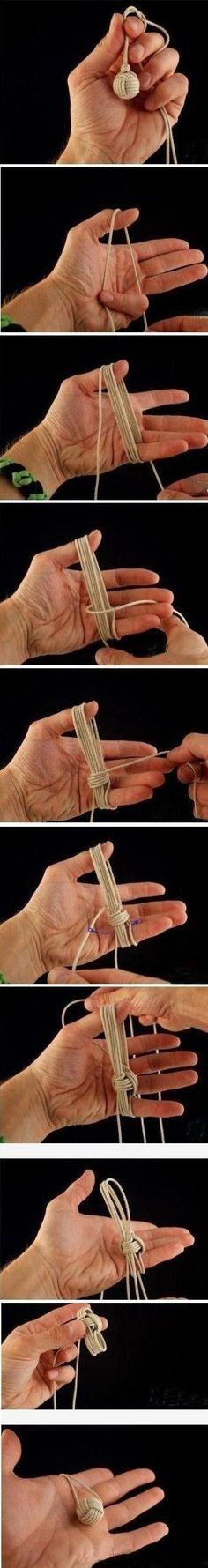 knot - kind of looks like a ball of yarn: