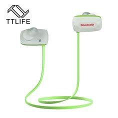 TTLIFE Sport Bluetooth 4.0 Earphones Sweatproof Wireless Headphones High Performance CSR HIFI Headset for iPhone 7 Mobile Phones
