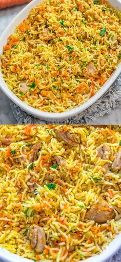 If you are looking for a simple, yet delicious and filling chicken dinner, this Chicken Rice Casserole is just what you need. It is made with simple ingredients and no fuss. While the casserole is in the oven, you can make a quick salad and set the table.