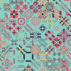Geometric Shapes / 160715 hexels processing hypeframework generativerart geometry creative coding artists on tumblr graphic design graphic art Grid geometric code generative art generative design sasj http://ift.tt/29W5W97