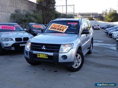 2007 Mitsubishi Pajero NS GLX LWB (4x4) Silver Automatic 5sp A Wagon #mitsubishi #pajero #forsale #australia