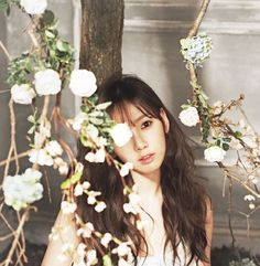 Taeyeon × CéCi Magazine (Behind the Scenes) × January 2014 Sooyoung, Yoona, Snsd, Girls Generation, Girls' Generation Taeyeon, Kpop Girl Groups, Kpop Girls, Ideas, Queen