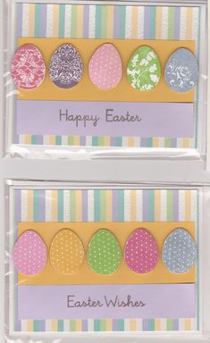 hand made easter cards