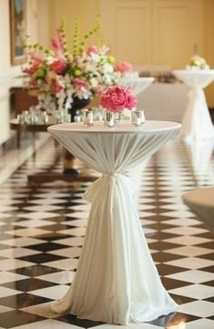 classic cocktail table