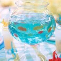 Swedish Fish & Jello for kid parties! (Soak in Vodka for grown-ups)!