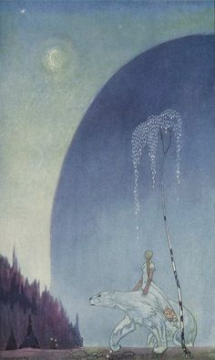 Kay Nielsen |  vintage illustrations of Scandinavian fairy tales