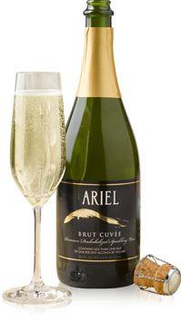 ARIEL Brut Cuvee :: Non-Alcoholic Wine/Sparkling Wine for Napa trip