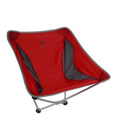 Take a look at this Red Monarch Camp Chair on zulily today!