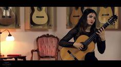 Gvaneta Betaneli plays Choro da Saudade by Agustín Barrios on a 2009 Kaz...