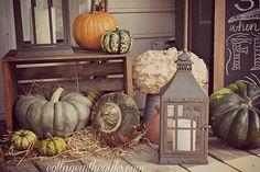 autumn front porch fall decor, outdoor living, porches, seasonal holiday decor, falldecor for the front porch