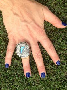 KATIE DAVIS  Florida Gators Softball Athletic Trainer | 2014 National Champions | Bride to Gators Baseball Coach