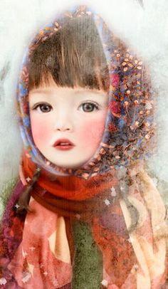 "Miharu Yokota, ""Northern Child"", detail"