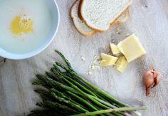 THE MIX WITH YUKI Asparagus, Ham & Fontina Cheese Bread Pudding - Erika Brechtel