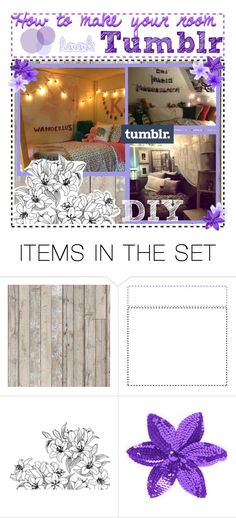 """How to make your room Tumblr"" by nutmeg2601 ❤ liked on Polyvore featuring art, bedroom, vintage and NutMegstips"
