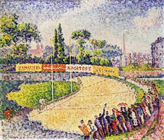 The Athenaeum - The Velodrome (Paul Signac - )