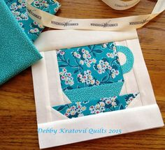 Debby Kratovil Quilts: Coffee Cups Tutorial for Windham Wednesdays