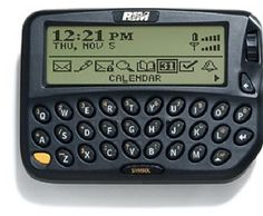 first blackberry | Yes, RIM's Toast, But There's No Way You Flew On A 747 From Denver To ...
