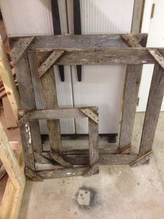 Rustic barn wood picture frames made in any size