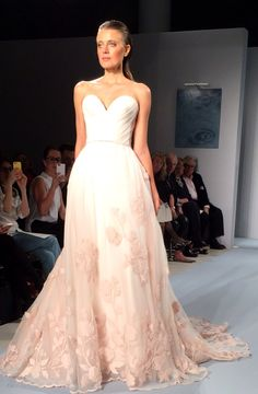 Soft Pink Bridal Gown