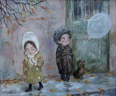 20 Preciosas imágenes creadas por la artista Nino Chakvetadze que harán que tu corazón se llene de ternura