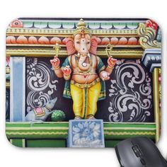 #Ganesha #God #Sculpture #Mousepad SOLD at #Zazzle ❁ Thanks! :)   http://www.zazzle.com/ganesh_idol_sculpture_mousepad-144372661271838063