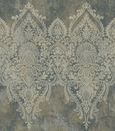 Paisley Wallpaper, Hand Painted Wallpaper, Textile Prints, Textile Patterns, Dinning Room Wallpaper, Saree Painting Designs, Charcoal Wallpaper, Wall Painting Decor, Baroque Art